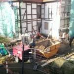 Blicke auf die Baustellen