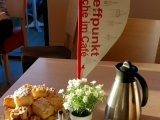 Kirche im Café