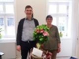 40-jähriges Dienstjubiläum von Angelika Steffensmeier