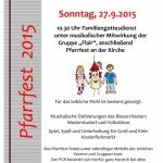 Pfarrfest 2015