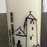 1000 Jahre Thüler Turm - Jubiläumskerzen