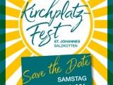 Kirchplatzfest in St.Johannes