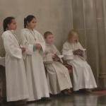 Vorstellung und Einführung der neuen Messdiener in St. Antonius Einsiedler