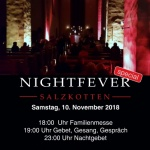Plakat Nightfever 2018